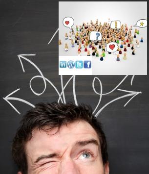 ¡ No quiero estar en las redes sociales!